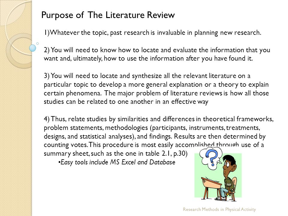 purpose of literature review for dissertation Literature review is the written and systematic summary of the research which is conducted on a particular topic it summarizes the background and context of the research literature review exercises to analyze the area of the research, which has been resolved in the study.
