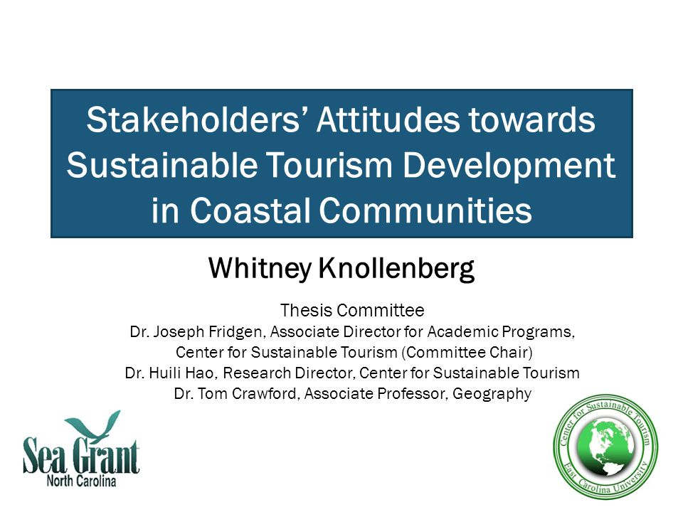 thesis about tourism development 2 the impacts of tourism and development in nicaragua a  grassroots approach to sustainable tourism a thesis presented  by.
