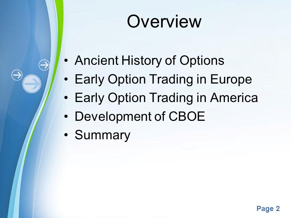 Options brokers in europe
