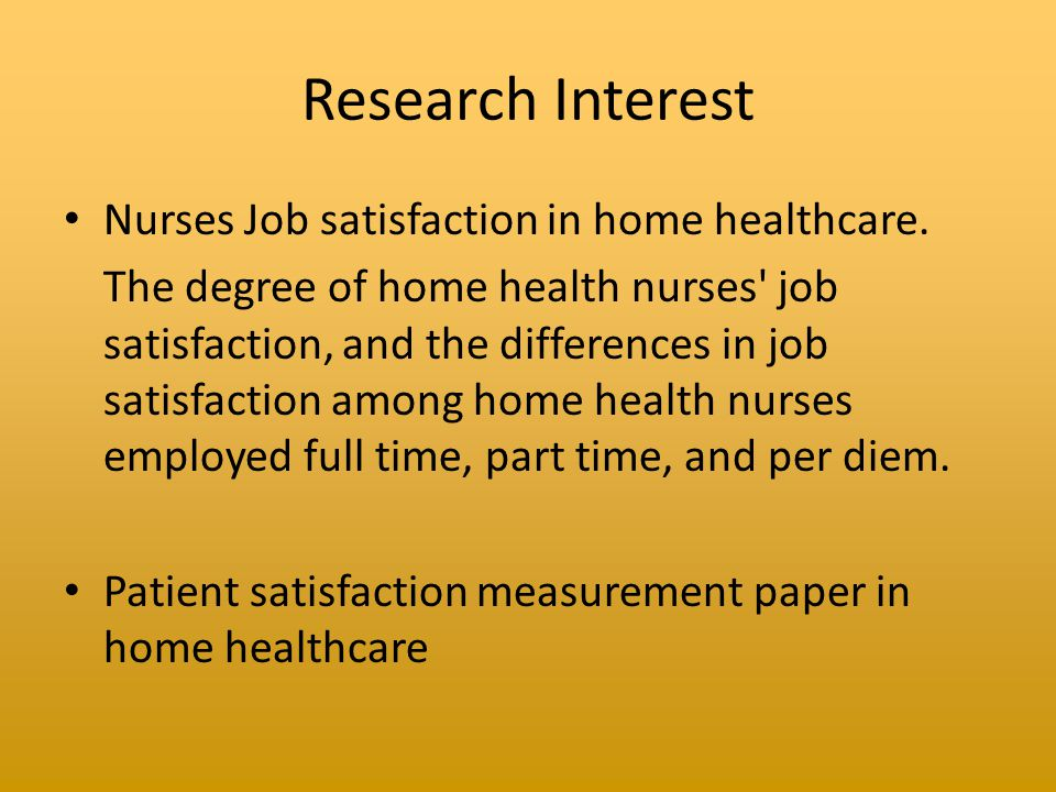 thesis job satisfaction among nurses And job satisfaction among primary health workers in rural parts of nigeria and  india • paper 1  conclusions: results from this dissertation suggest that  motivation and job satisfaction of  nurses in rural south africa: a questionnaire  survey.