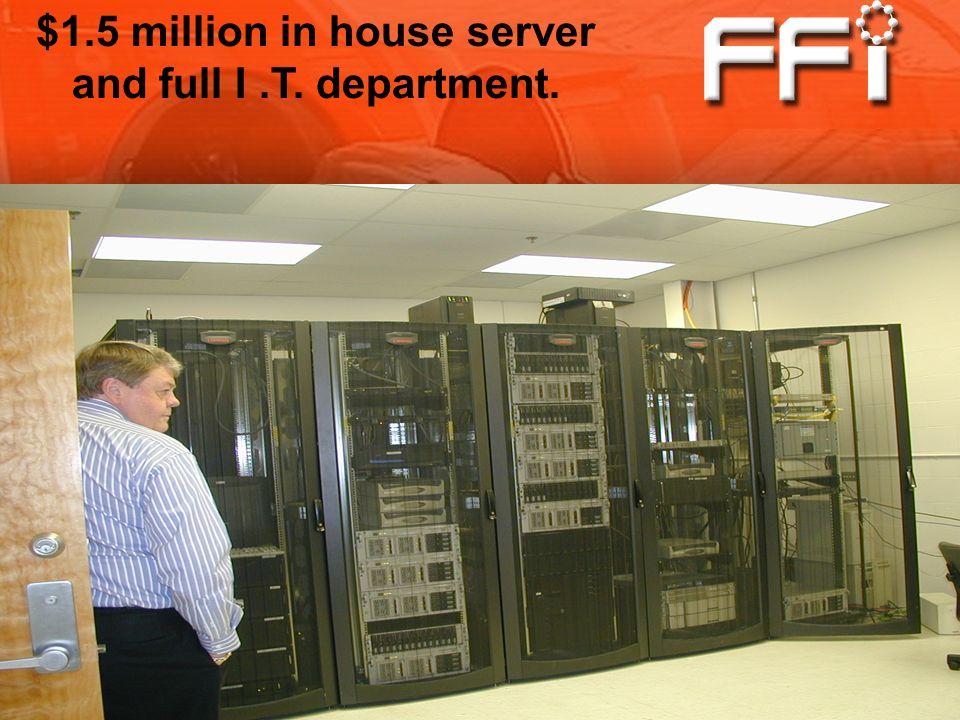 $1.5 million in house server