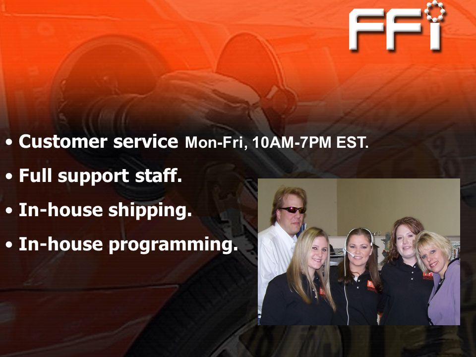 Customer service Mon-Fri, 10AM-7PM EST.