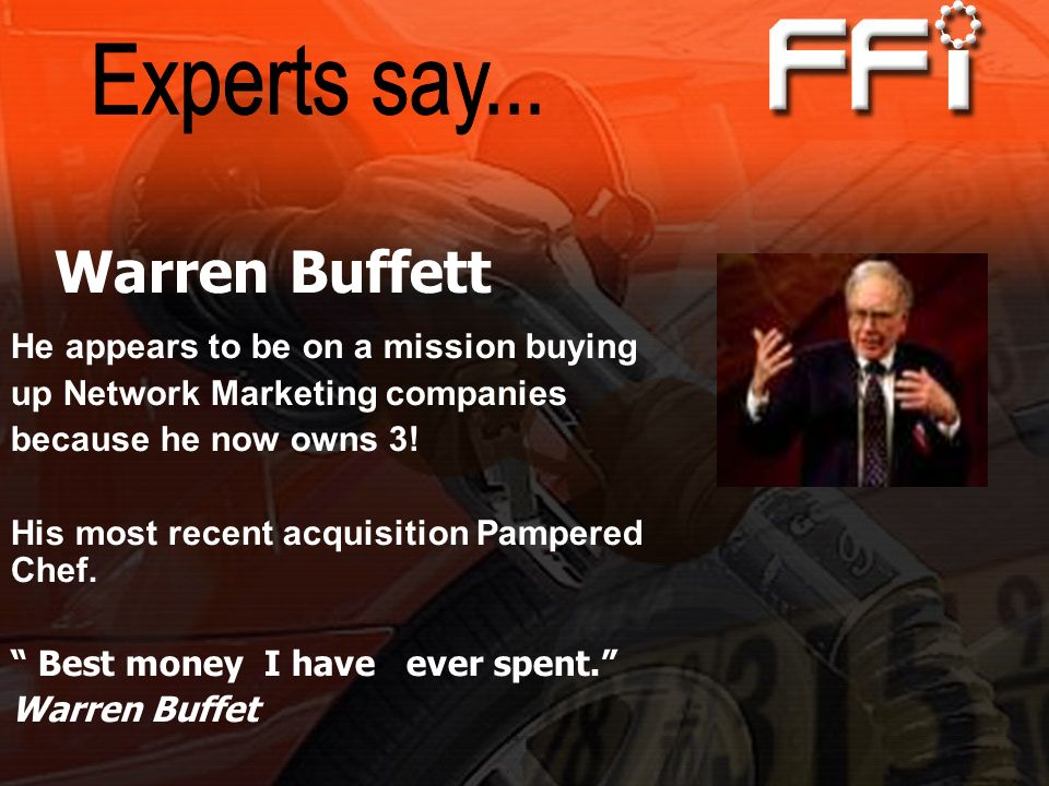 Warren Buffett Experts say... He appears to be on a mission buying