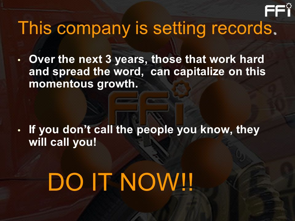 This company is setting records.