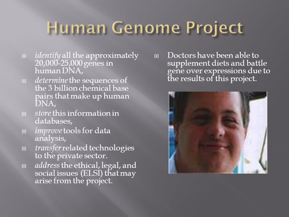 human genome project information This website is now archived some of the information on this page is out of date for current information about the human genome project please read the following.
