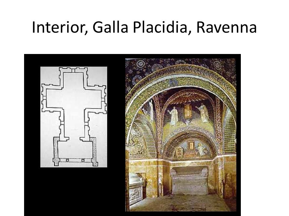 Interior, Galla Placidia, Ravenna