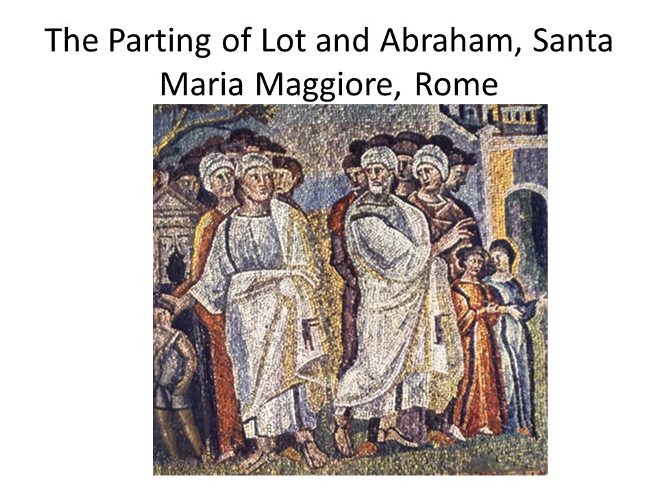 The Parting of Lot and Abraham, Santa Maria Maggiore, Rome