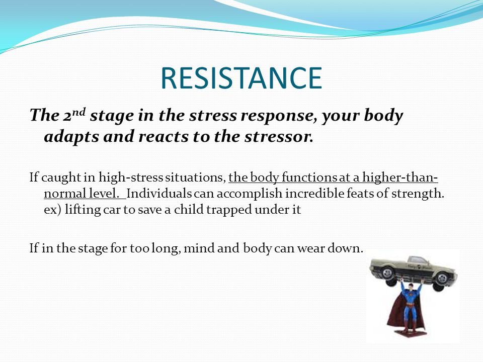 the stress response and its stages There are 3 components to the concept of stress: the stress response & its effect on our all bodily systems exhibit a stress response & its various stages:.