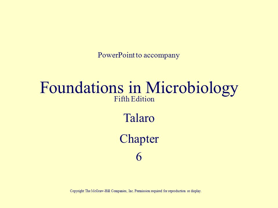 Foundation in microbiology 5th edition shopgoodwill. Com.