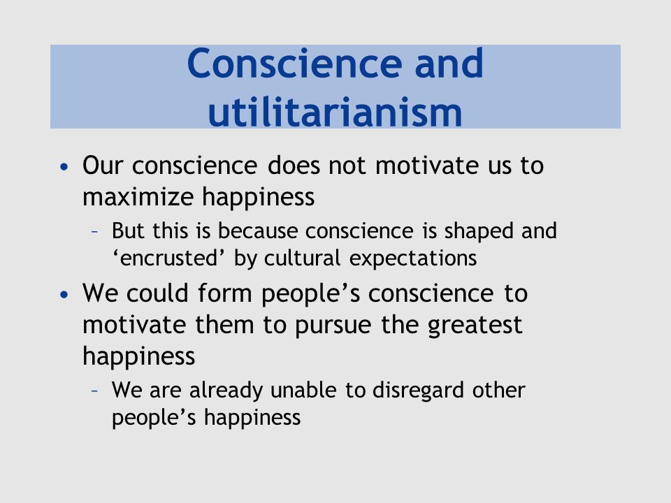 an analysis of internal moral feelings in mills utilitarianism In this lesson, learn the key ideas of utilitarianism we'll look at three thinkers who saw the benefits of pursuing pleasure while still.