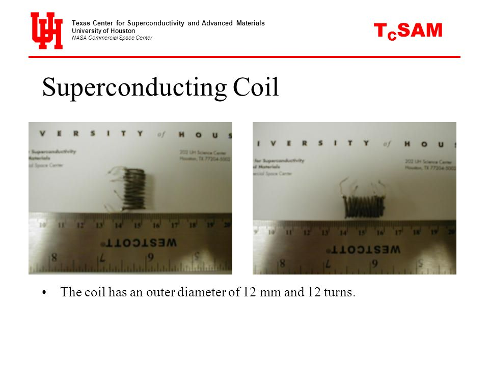 Superconducting Coil CSAM T