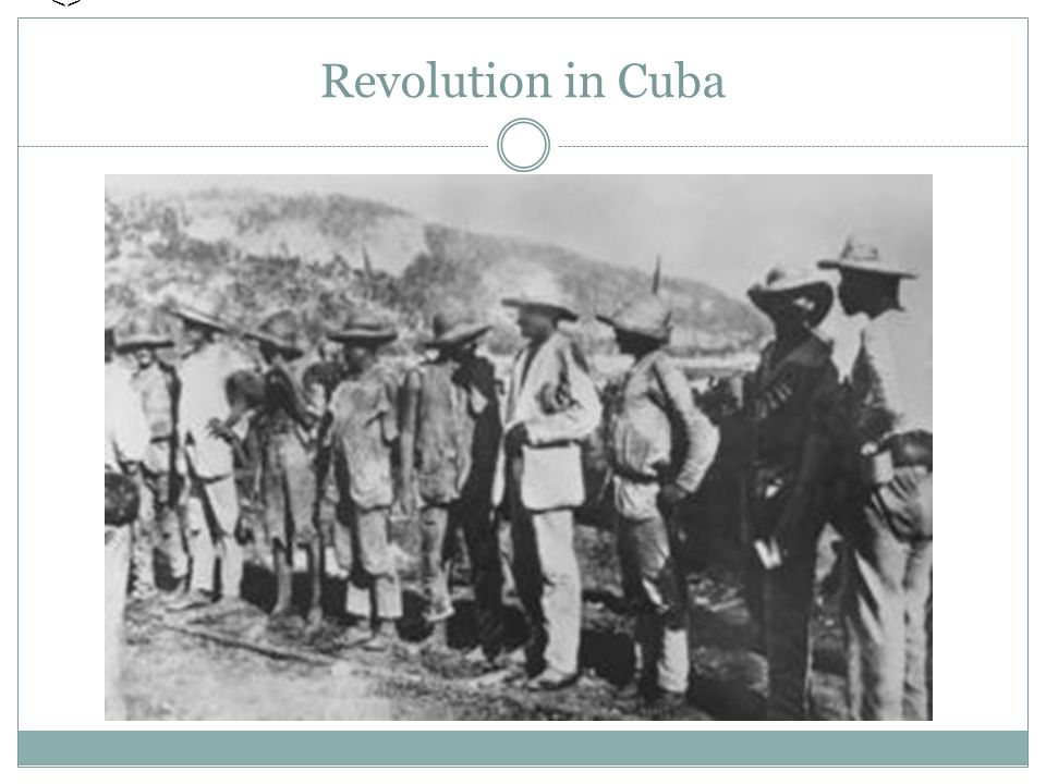 us imperialism and the cuban revolution Finally, in 1901, the us handed control back over to the cuban government with terms outlined, keeping it a united states territory it stayed this way until 1959, when another cuban revolution began, and cuba became its own independent territory.
