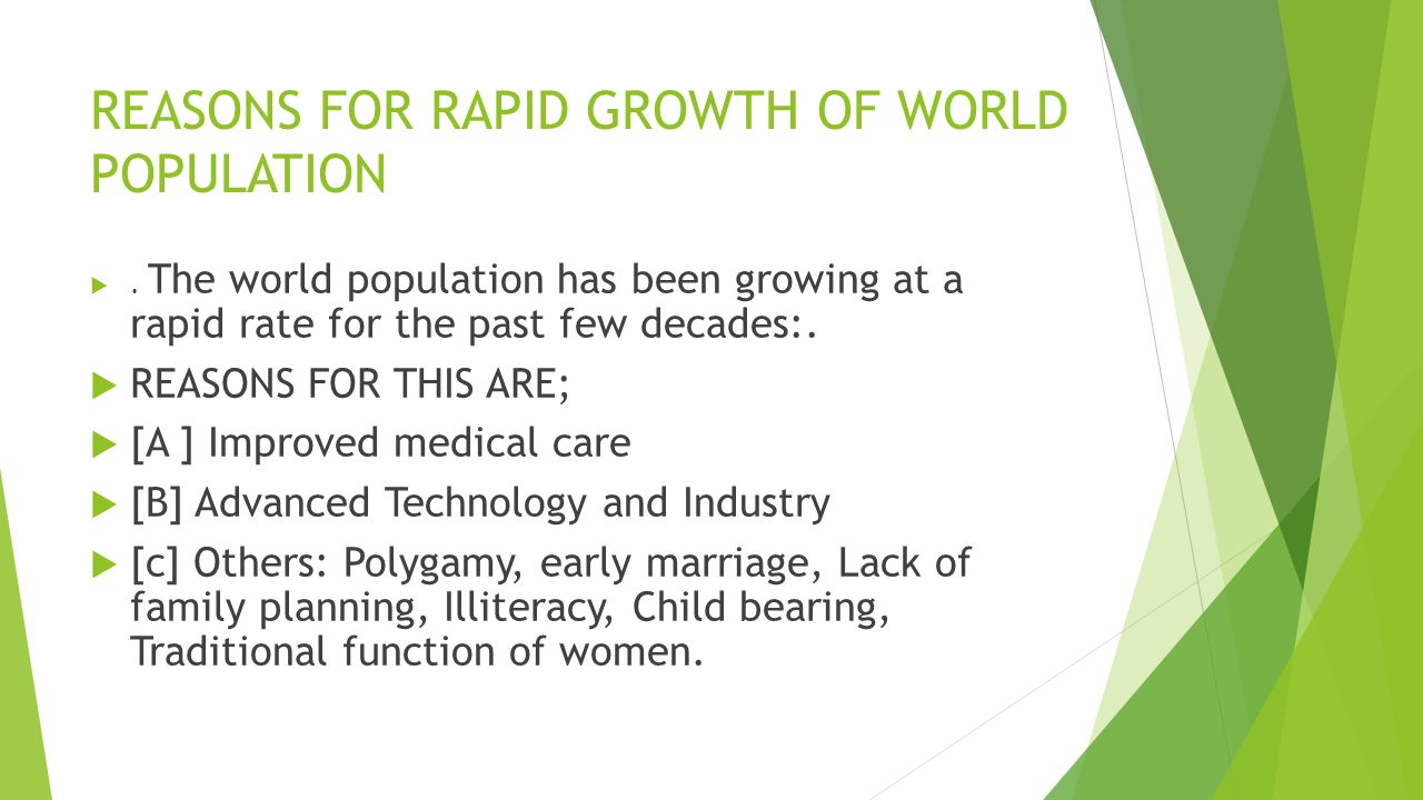 The rapid growth of technologies in the world today