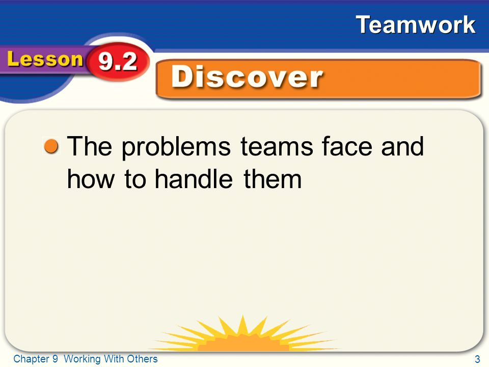 The problems teams face and how to handle them