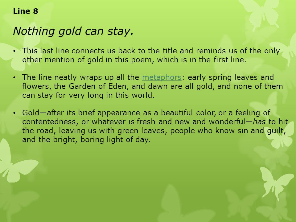 nothing gold can stay Watch today nothing gold can stay episode 08 english sub in hd video you can watch and download full hd drama cool nothing gold can stay.
