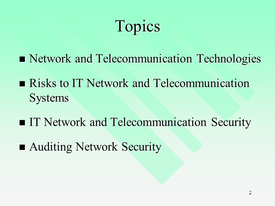 is network and telecommunications risks - ppt video online download, Powerpoint templates