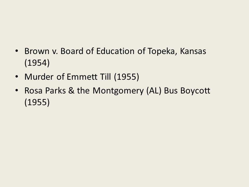 brown vs board of education of topeka essay Brown v board of education of topeka , kansas 347 us 483 (1954) 349 us 294 (1955) while speaking at an annual luncheon of the national committee for rural schools on 15 december 1956, martin luther king, jr reflected on the importance of brown v.