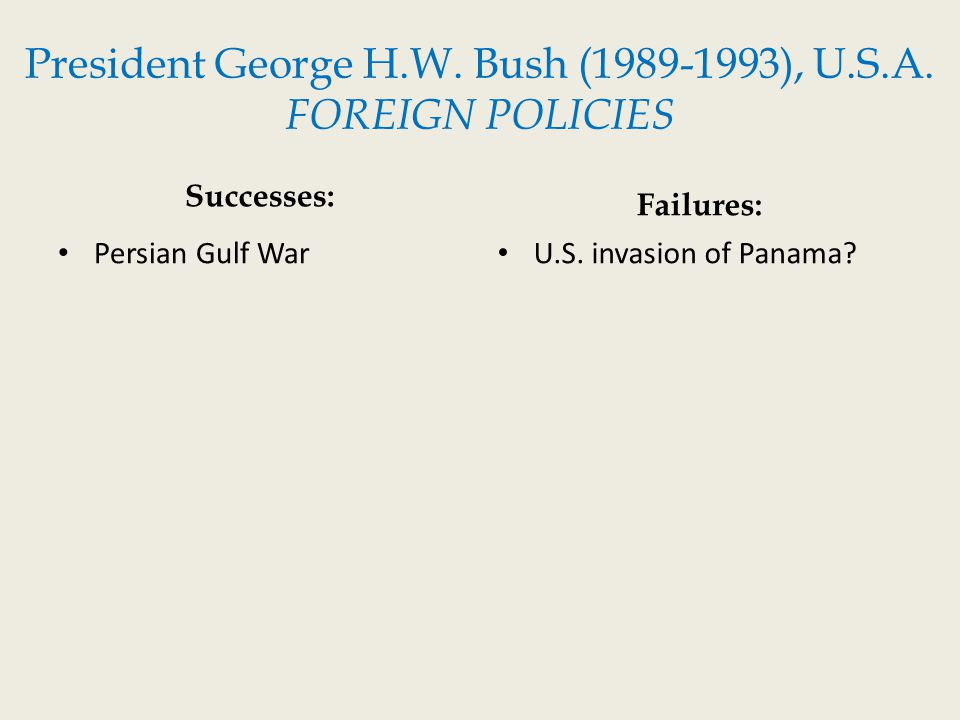 george w bush and barak obama foreign policies Was george w bush better than obama 70% say yes  george w bush was better than obama  his foreign policy was much better and more defined than president's .