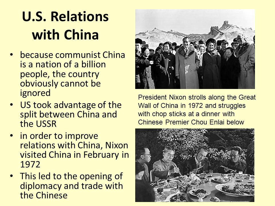 China–United States relations