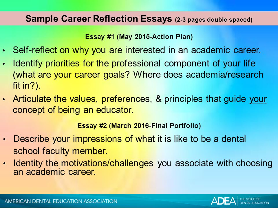 education reflection essay You May Also Find These Documents Helpful