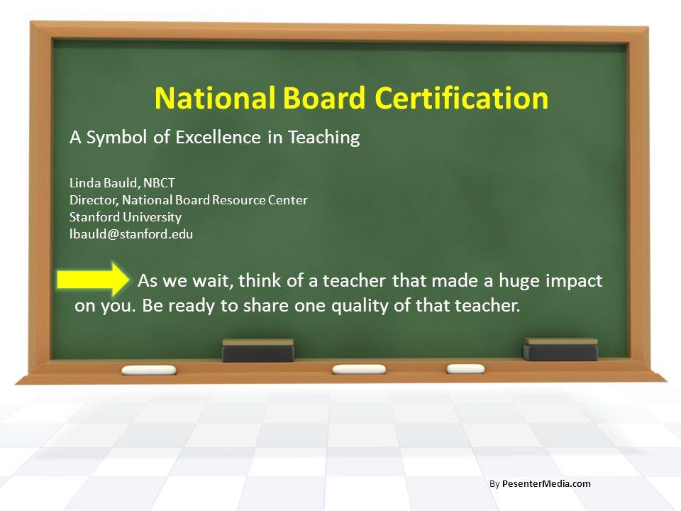National Board Certification - ppt video online download