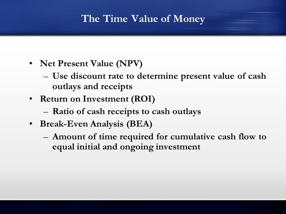 net present value and software project Npv calculator - download a free net present value calculator for excel learn how to calculate npv and irr.