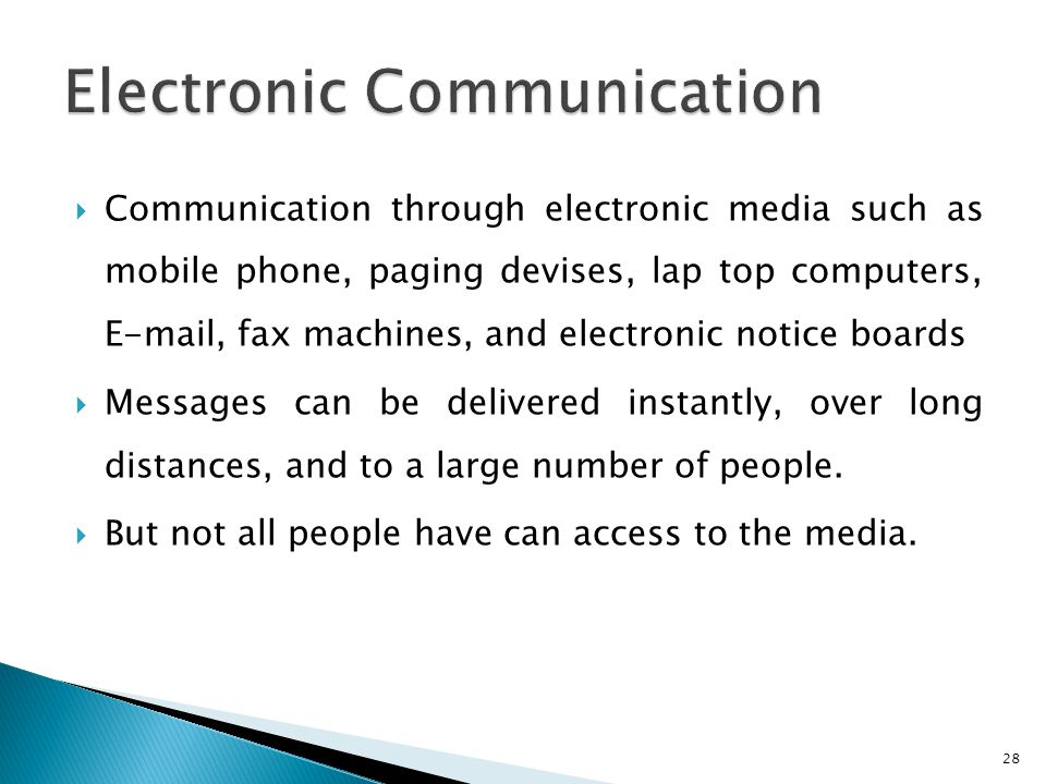 electronic communication short note Interim electronic communications implementing guidelines 5612 supercedes   as an example, sally may send a short electronic note inviting julia to a.