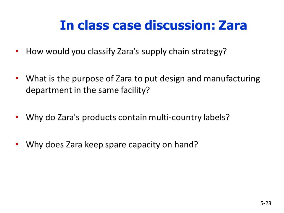 supply chain logistics case study zara Zara case study supply chain - let specialists accomplish their responsibilities: receive the required writing here and wait for the best score entrust your.