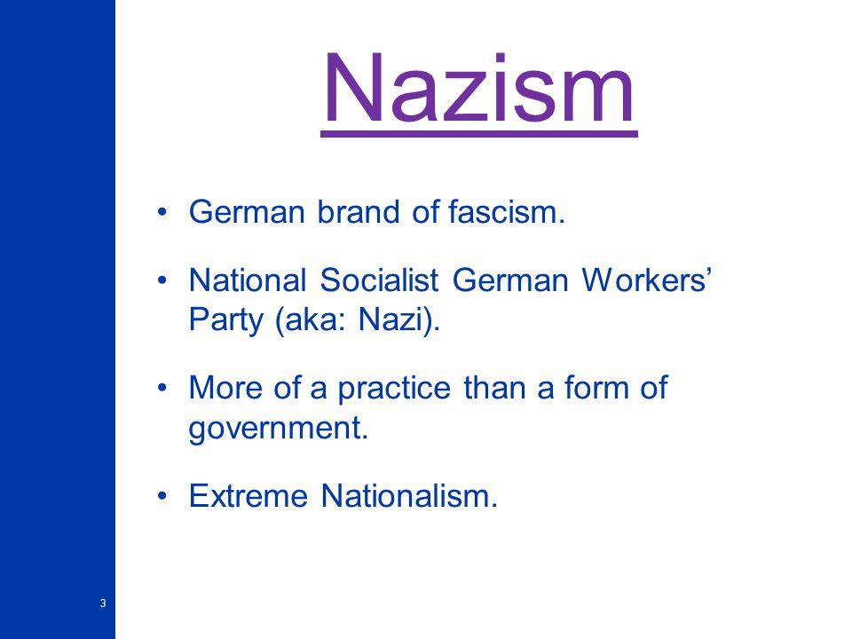 Fascism/ Nazism & Totalitarism - ppt video online download