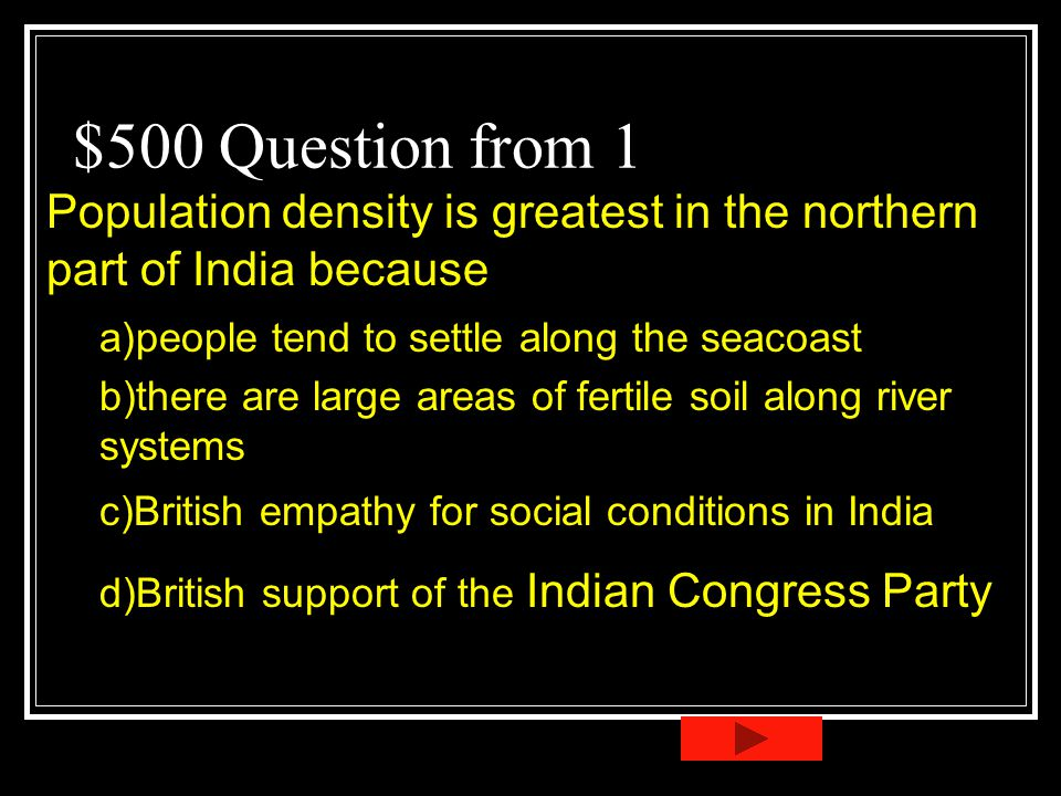 India and africa jeopardy ppt video online download for Soil jeopardy