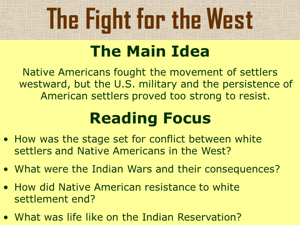 european settlement and native american resistance Relations between pennsylvania's native american and european peoples   this revivalist message fueled a pan-indian resistance to the soldiers and settlers .