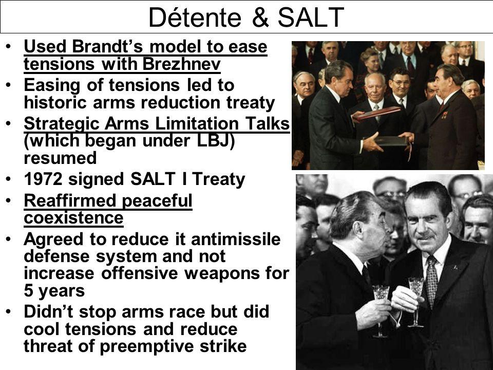 Decolonization destalinization the brezhnev doctrine ppt download dtente salt used brandts model to ease tensions with brezhnev platinumwayz