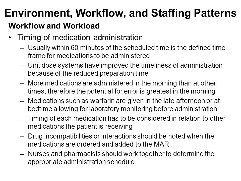 administeration of medication Nurses are human and medication errors can happen we have a responsibility to find and implement ways of minimising them though, to keep our patients safe.