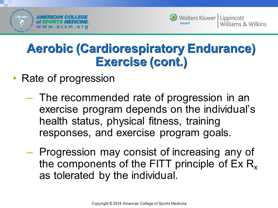 Chapter 7 General Principles Of Exercise Prescription