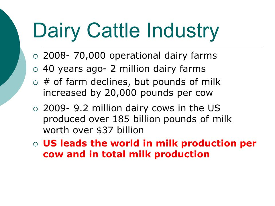 dairy cattle introduction ppt video online download. Black Bedroom Furniture Sets. Home Design Ideas
