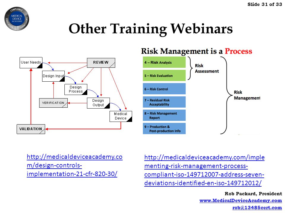 Other Training Webinars