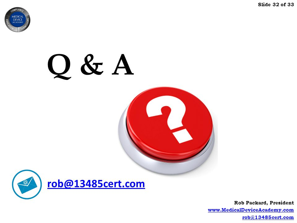 Q & A What if your customer requires an FMEA