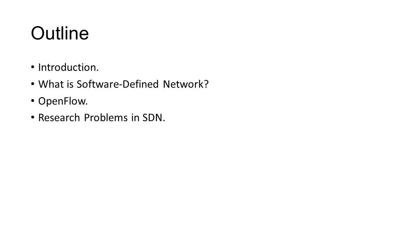Introduction to software defined network sdn ppt video online what is software defined network openflow baditri Images