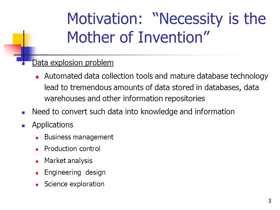 an analysis of the statement necessity is the mother of inventions