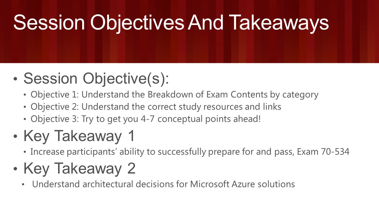 Light it up microsoft learning ignite may 4 8 2015 chicago 3 session objectives and takeaways xflitez Gallery