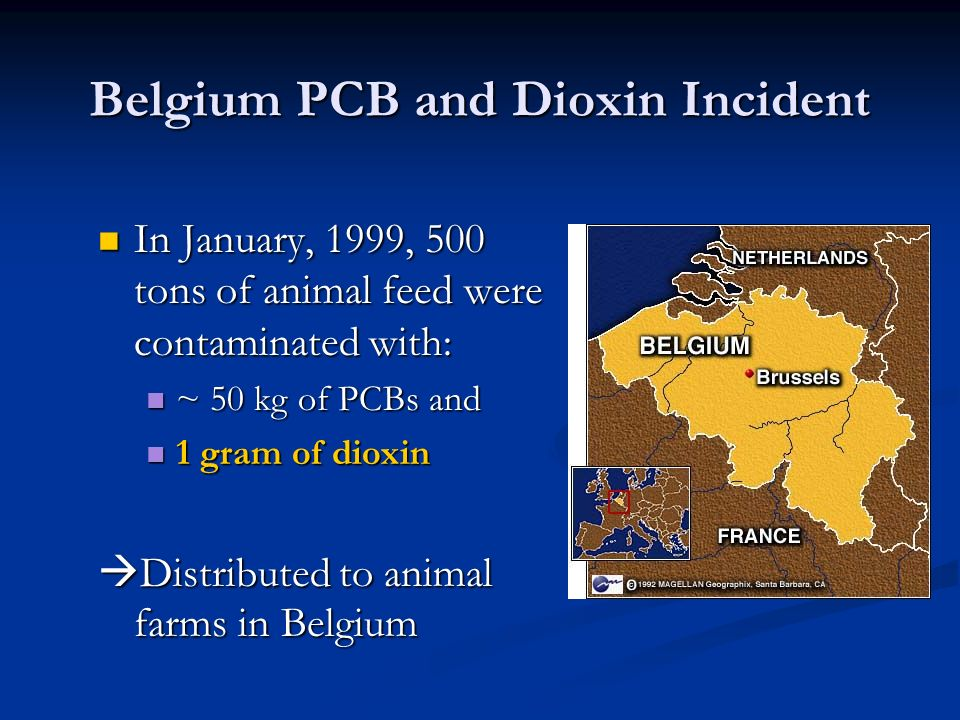 Belgium PCB and Dioxin Incident