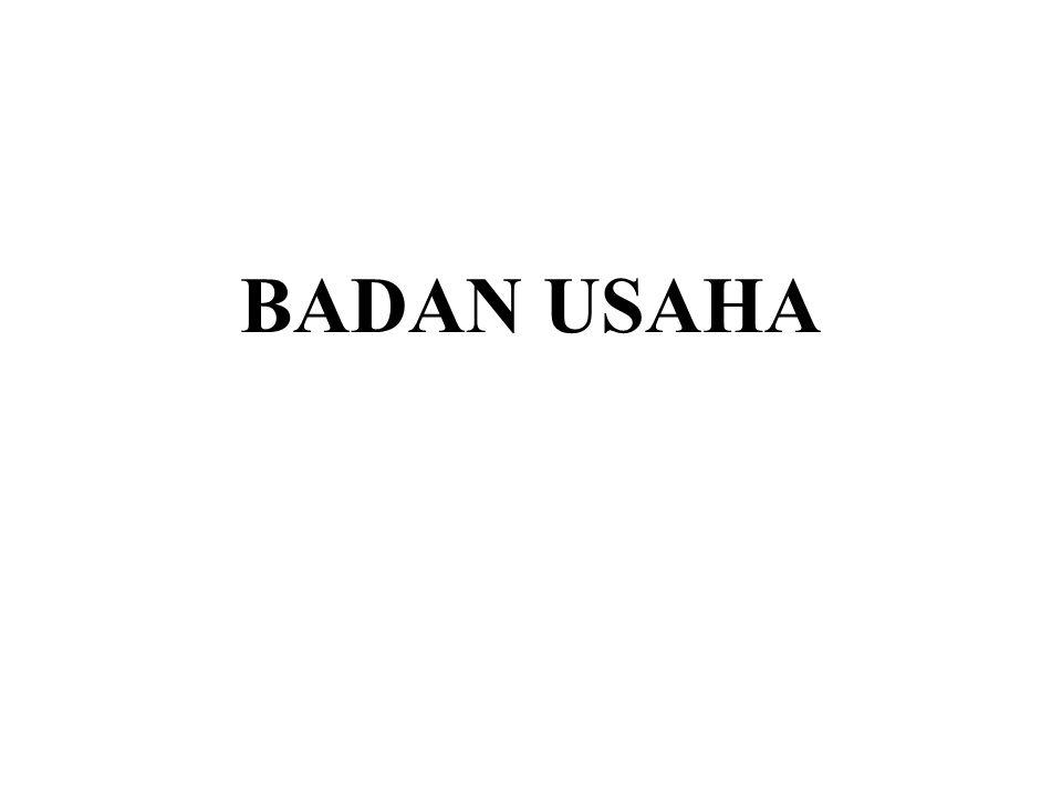 BADAN USAHA
