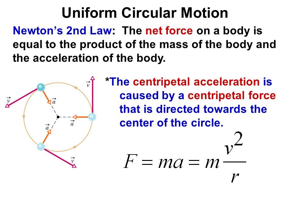 uniform circular motion A body has non-uniform circular motion when its trajectory is a circumference and  its angular acceleration is constant in this section, we are going to study.