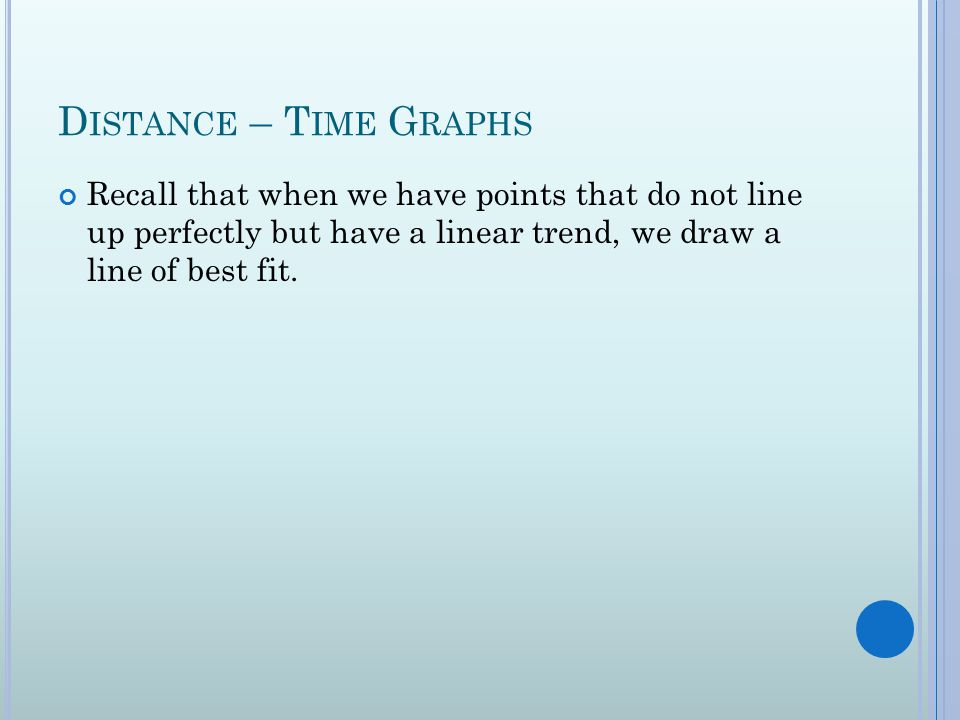 Drawing Lines Of Best Fit : Science unit physics ppt download