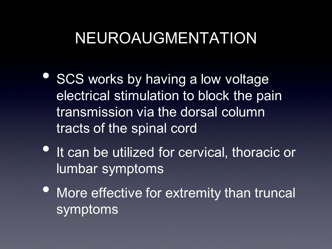 NEUROAUGMENTATION