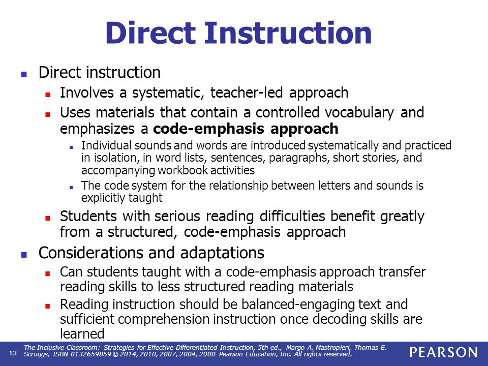 the inclusive classroom strategies for effective differentiated instruction