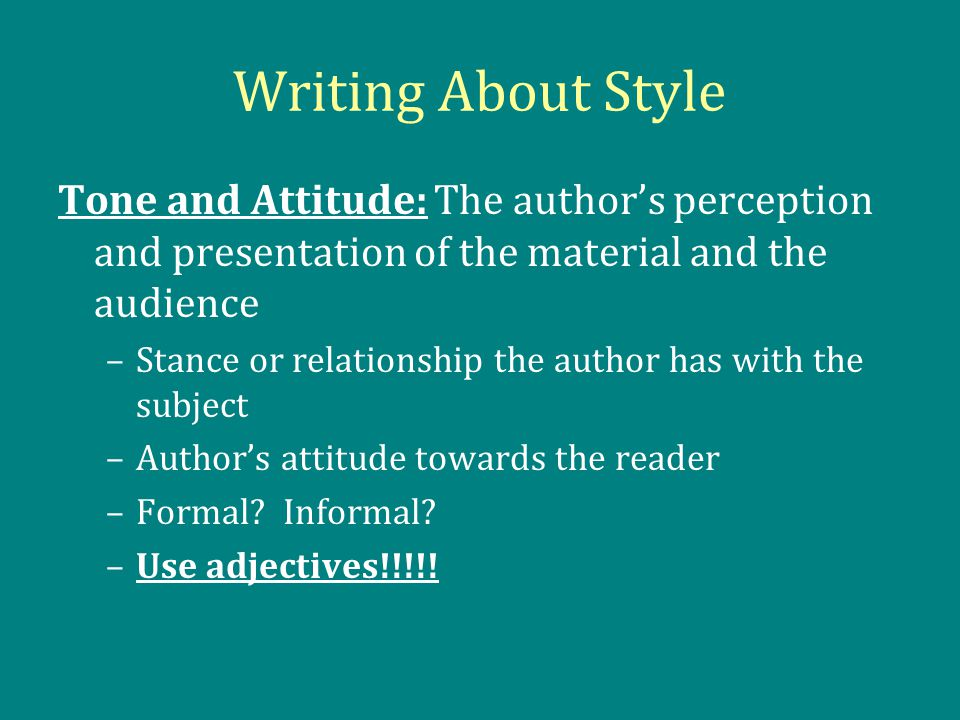 thesis metonymy and stylistics The author argues for applied stylistics as a distinct area and the need to raise stylistic awareness among teachers and learners, translators, lexicographers and advertisers.