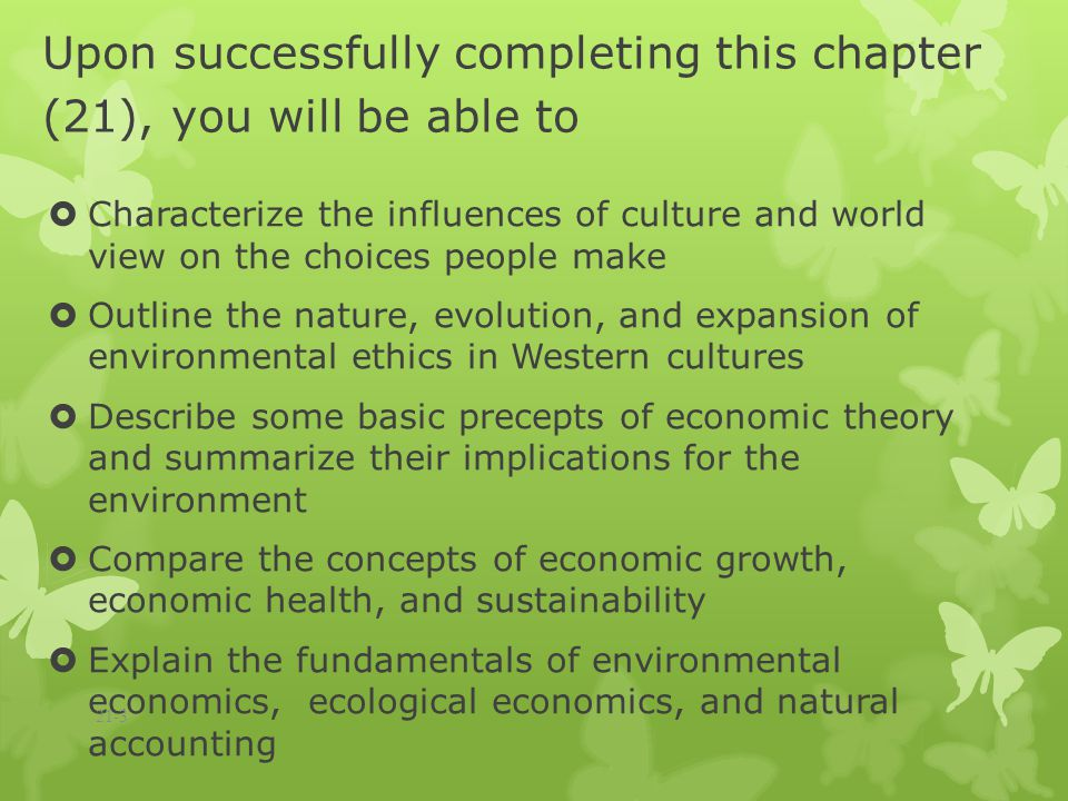 Environmental Ethics: Academic Requirements, Professional Outlook