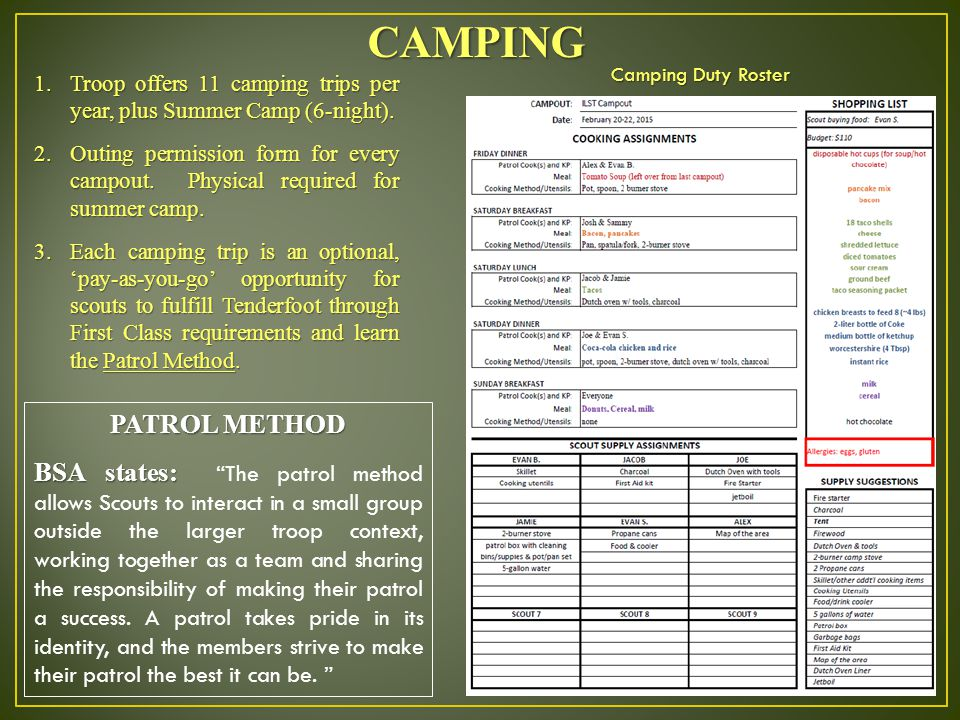 Scouting Orientation For Parent Ppt Video Online Download