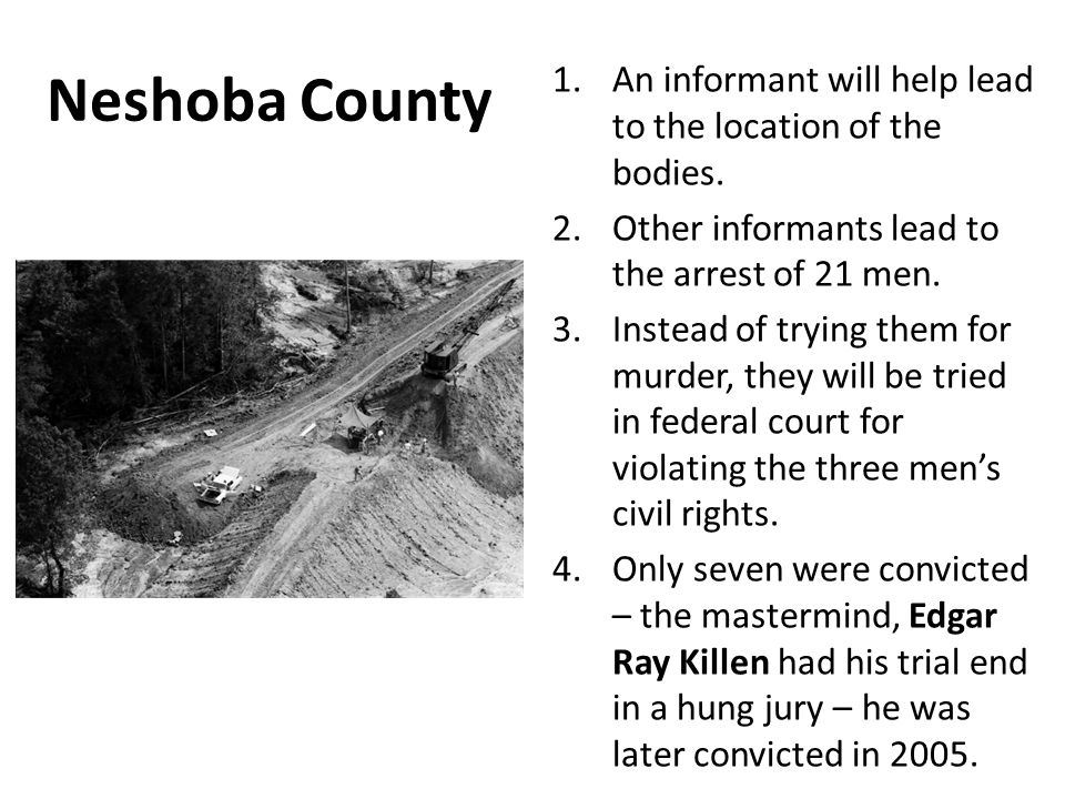 neshoba county single men Jim crow laws were state and local laws that enforced racial segregation in the southern united states enacted by white democratic-dominated state legislatures in.